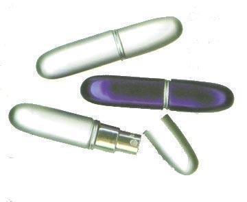 Parfümzerstäuber silber, für ca 4 ml Duft silber