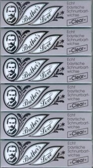 Brother`s Love Bartwichse, 6x10 ml clear, Sparpack